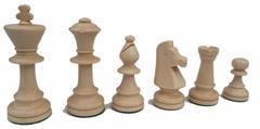 dřevěné turnajové šachové figurky TOURNAMENT 5 167A mad