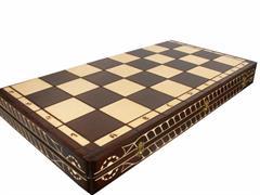 šachy dřevěné Cezar velký 102 mad