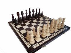 dřevěné šachy umělecké MARS 108 mad