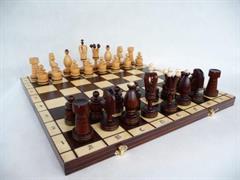 dřevěné šachy umělecké Kralovské velké 107 mad