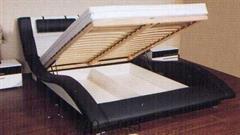 dvojlůžková čalouněná postel Domino 180