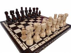 dřevěné šachy vyřezávané GLADIATOR 117 mad