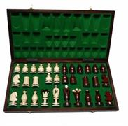 dřevěné šachy umělecké Kralovské 136 mad