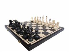 dřevěné šachy turnajové Klasické 127 mad