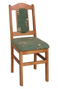 dřevěná jídelní židle z masivního dřeva borovice drewfilip 5 P-2