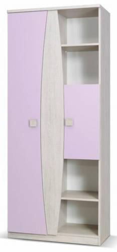 moderní regál z kolekce Tenus TR80 fialová gib