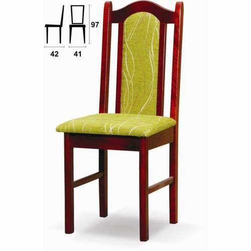 židle jídelní dřevěná R-4 chojm