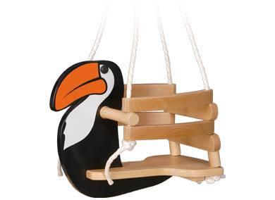 dětská dřevěná houpačka tukan gepetto skladem
