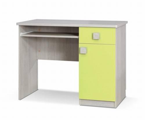 moderní psací stolek z dřevotřísky Tenus T biurko citron gib