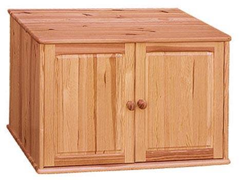 nástavec na šatní skříň z masivního dřeva borovice drewfilip 3 Nadstawka II