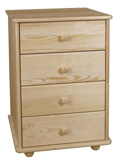 dřevěná komoda, prádelník z masivního dřeva borovice drewfilip 3