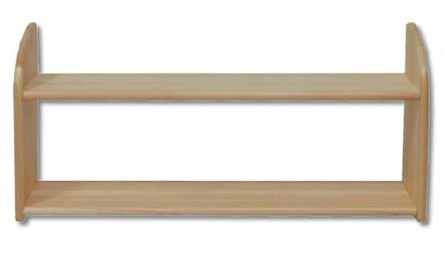 dřevěná závěsná polička z masivního dřeva borovice PK110 pacyg