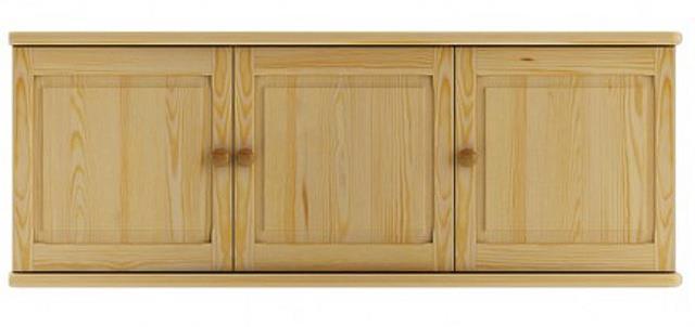 dřevěný nadstavec na šatní skříň z masivního dřeva borovice SF142 pacyg