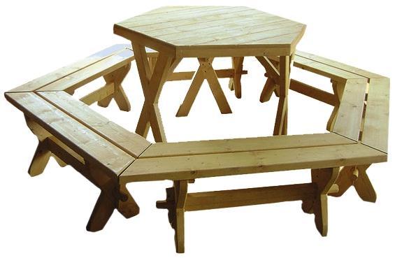 dřevěný zahradní nábytek set K028 jandr