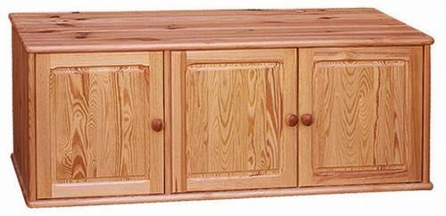 nástavec na šatní skříň z masivního dřeva borovice drewfilip 5 Nadstawka III