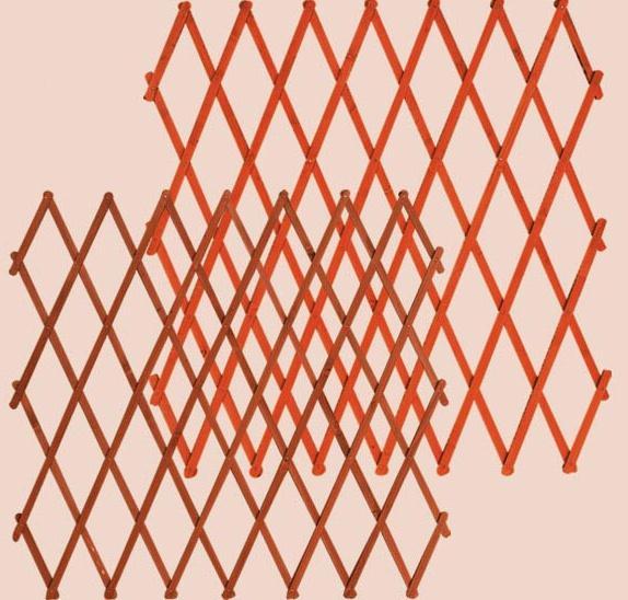 dřevěná zahradní dekorace ozdobná mřížka drewfilip 79