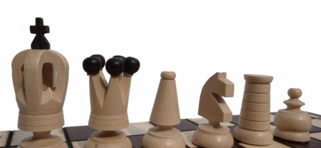 dřevěné šachy turistické ROYAL MINI 152 mad