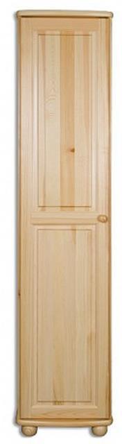 dřevěná šatní skříň z masivního dřeva borovice SF112 pacyg