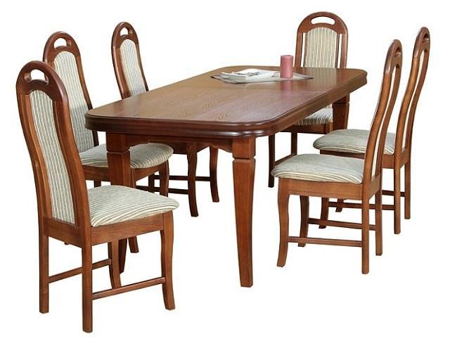jídelní dřevěný rozkládací stůl S12 chojm