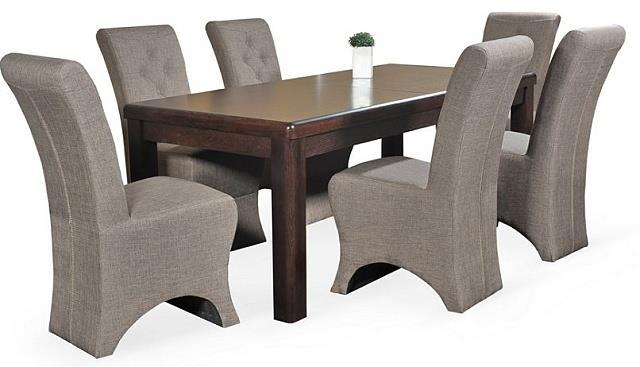 moderní jídelní dřevěný rozkládací stůl S24 chojm
