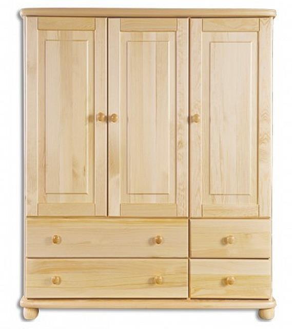 dřevěná komoda, prádelník z masivního dřeva borovice KD166 pacyg