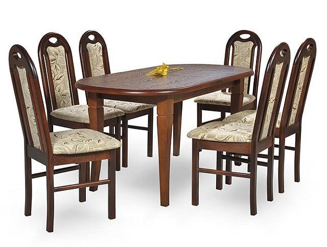 jídelní dřevěný rozkládací stůl S3 chojm