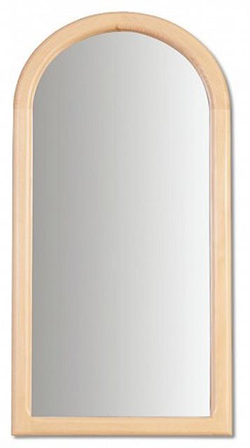 dřevěné zrcadlo z masivního dřeva borovice LA106 pacyg