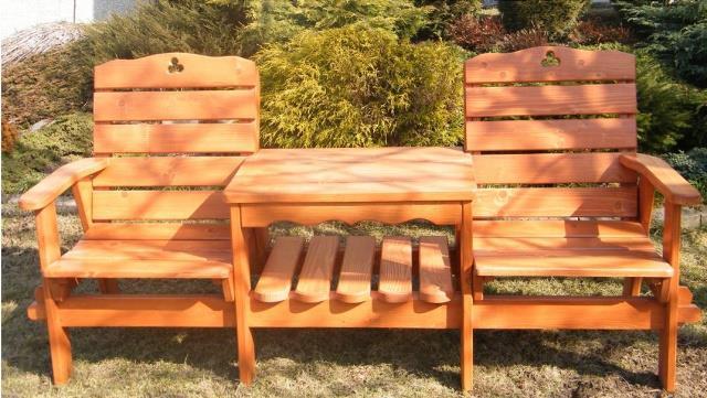dřevěný zahradní nabytek vencl Balkon drewbo