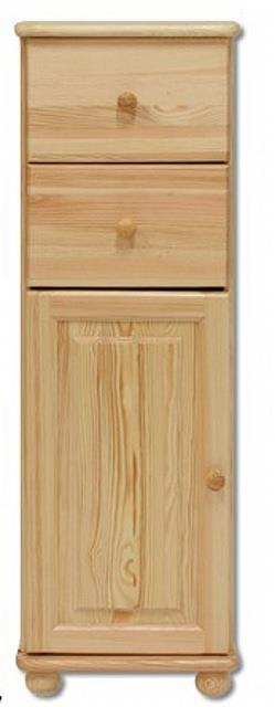 dřevěná komoda, prádelník z masivního dřeva borovice KD128 pacyg