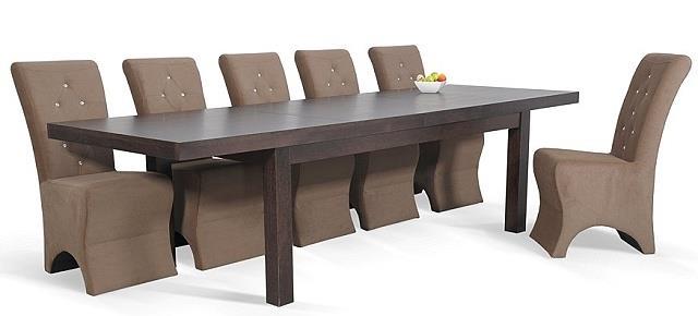 moderní jídelní dřevěný rozkládací stůl S22 chojm