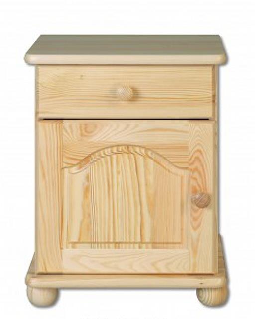 dřevěný noční stolek z masivního dřeva borovice SN104 pacyg