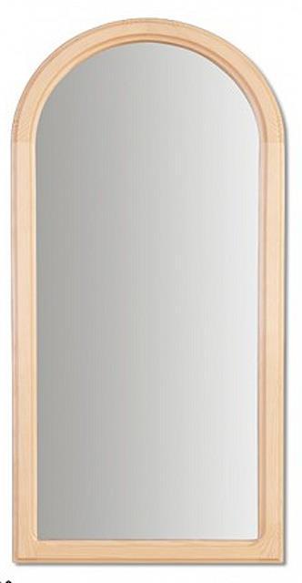 dřevěné zrcadlo z masivního dřeva borovice LA105 pacyg
