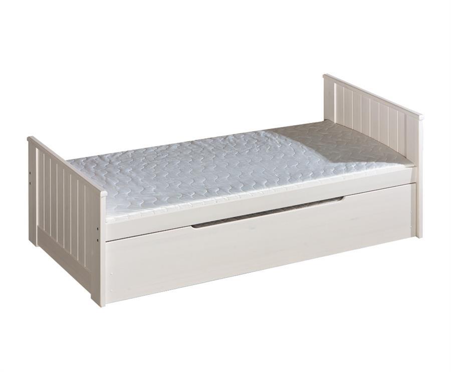 dřevěná dětská rozkládací dvojí postel z masivního dřeva borovice Tomi dolm