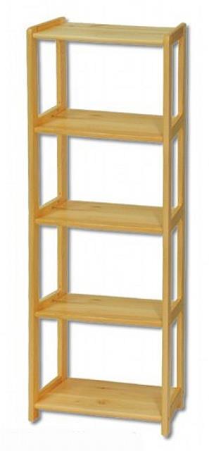 dřevěný regál z masivního dřeva borovice RG122 pacyg