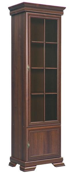 moderní vitrína z dřevotřísky Kora KRW1 gala