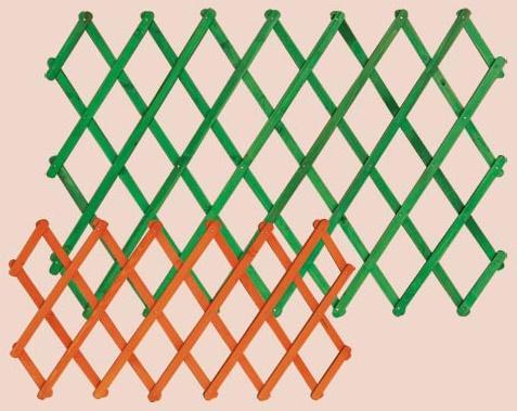 dřevěná zahradní dekorace ozdobná mřížka 70 drewfilip 77