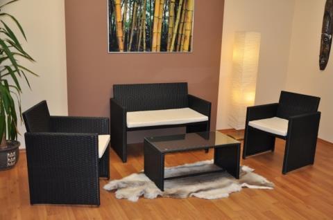 zahradní nábytek, sedací souprava AXIN 1 umělý ratan axi