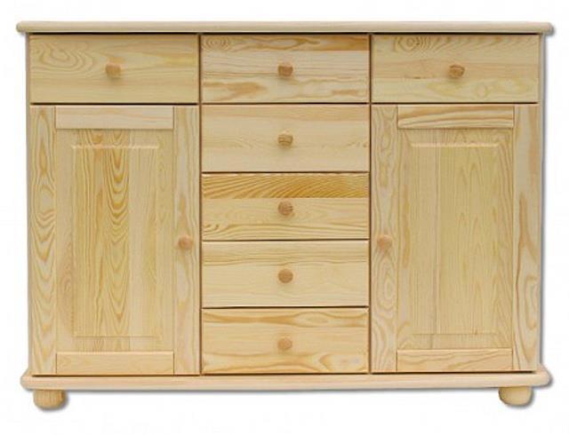 dřevěná komoda, prádelník z masivního dřeva borovice KD153 pacyg