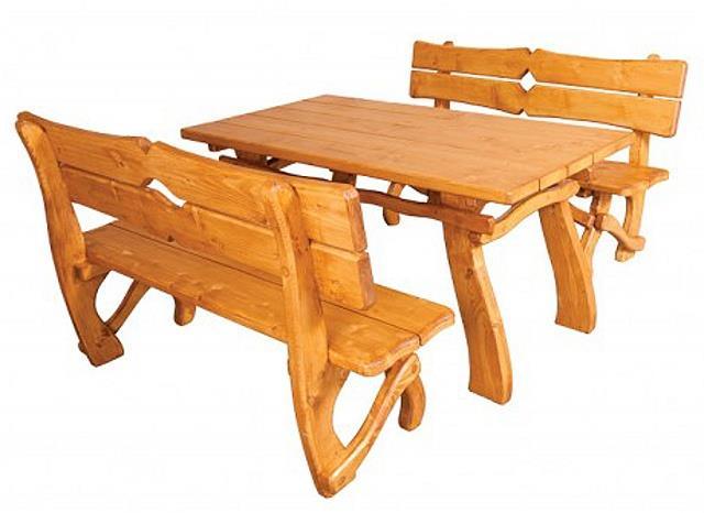 dřevěný zahradní nábytek MO241 pacyg