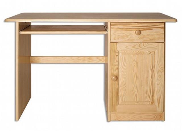 dřevěný psací stůl, PC stolek z masivního dřeva BR109 pacyg