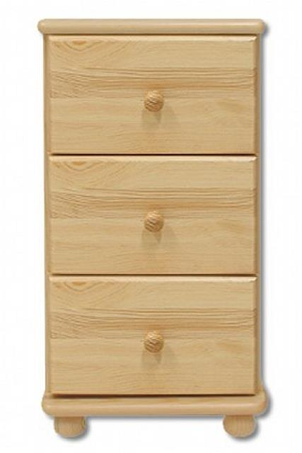 dřevěná komoda, prádelník z masivního dřeva borovice KD108 pacyg