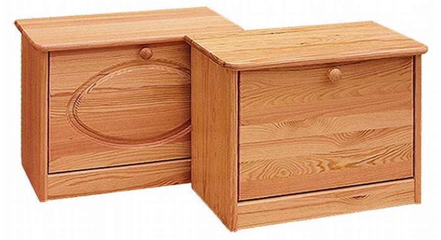 dřevěný botník z masivního dřeva borovice drewfilip 16