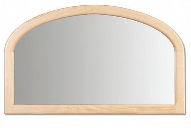 dřevěné zrcadlo z masivního dřeva borovice LA104 pacyg