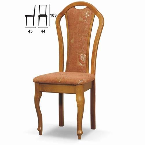 židle jídelní dřevěná R-23 chojm