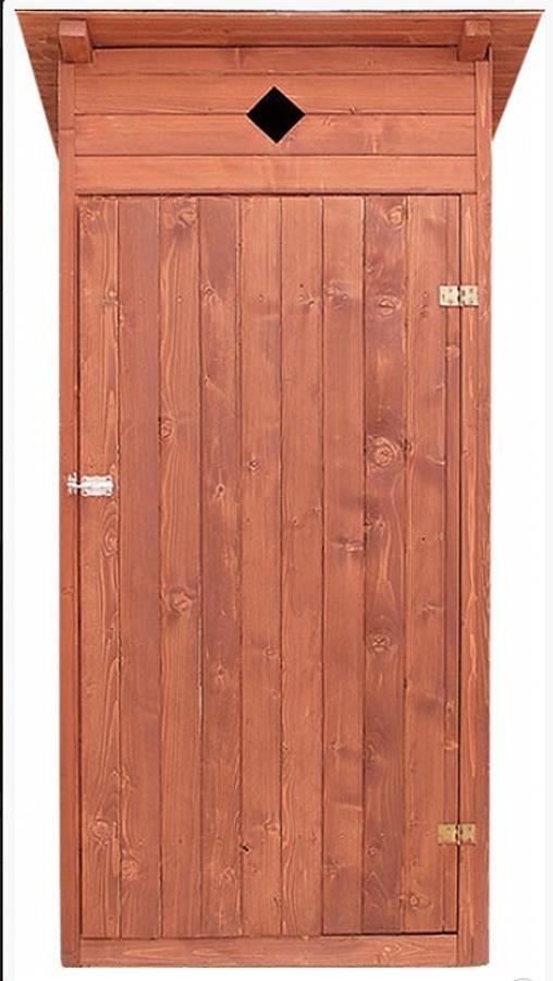 dřevěné zahradní suché WC kadibudka drewfilip 14
