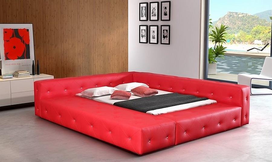 dvojlůžková čalouněná postel Baron 140 chojm