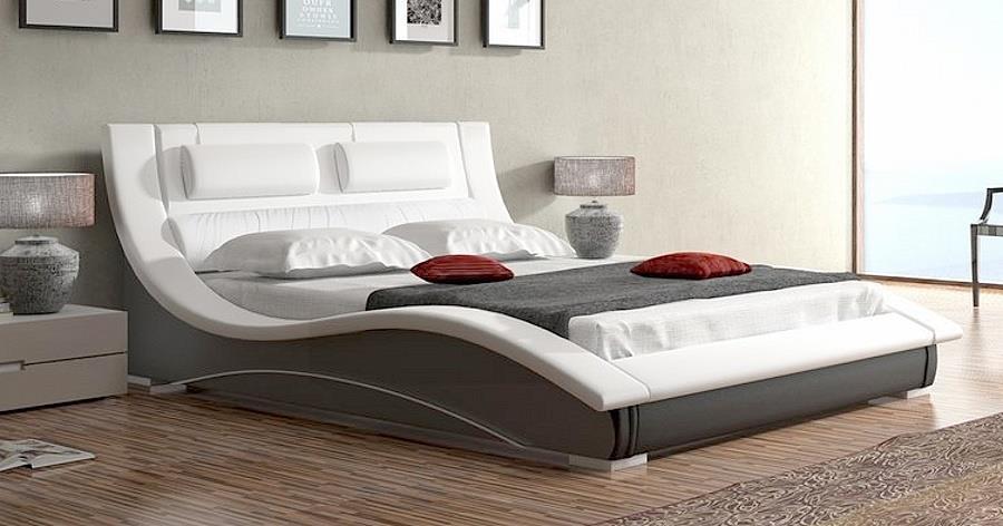 dvojlůžková čalouněná postel Lapas 140 chojm