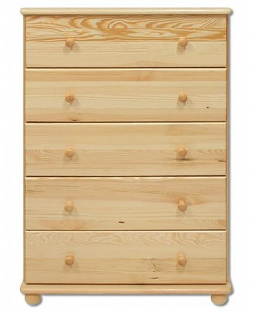 dřevěná komoda, prádelník z masivního dřeva borovice KD114 pacyg