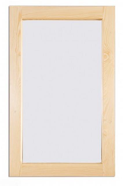 dřevěné zrcadlo z masivního dřeva borovice LA114 pacyg