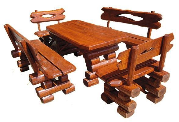 dřevěný zahradní nábytek set K021 jandr